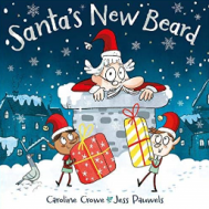 Santa's New Beard by Caroline Crowe